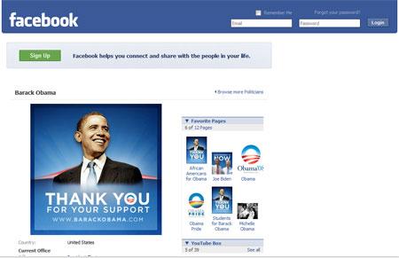 Follow Barack Obama