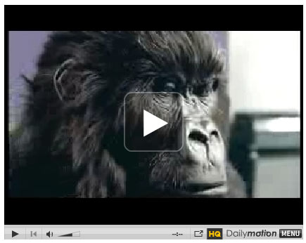 Gorilla Ad for Cadbury Dairy Milk