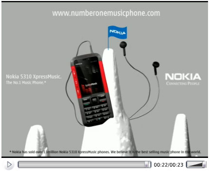 Nokia Music Phone – Mountain
