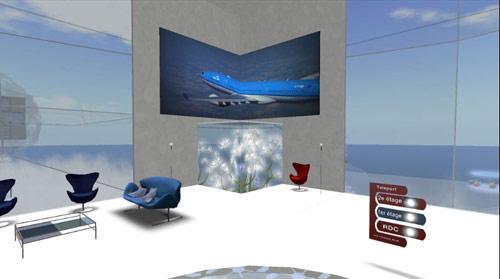 Air France-KLM isLand สร้างโลกเสมือนจริงบน Second Life