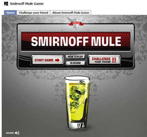 แคมเปญ Smirnoff Mule Game