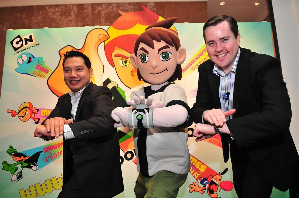 Cartoon Network เปิดตัวเว็บภาษาไทย