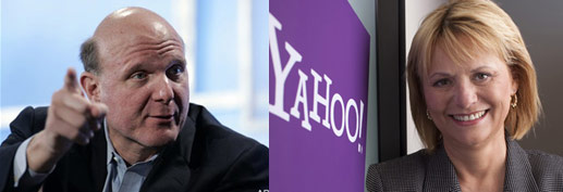 CEO Microsoft พบกับ CEO Yahoo!