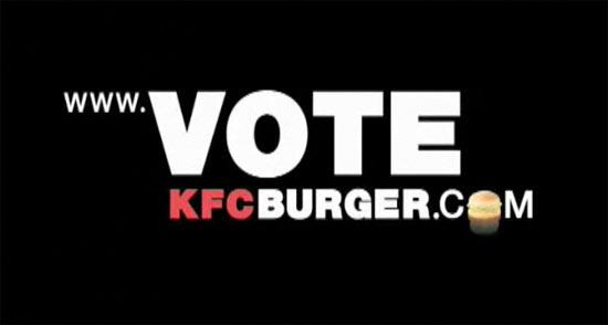 KFC ชวนโหวต 'ตอนจบที่คุณชอบ'