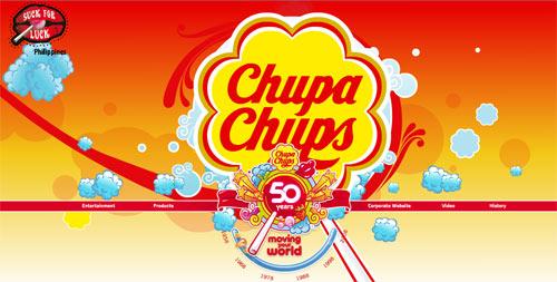 50 ปีกับ Chupa Chups แคมเปญ