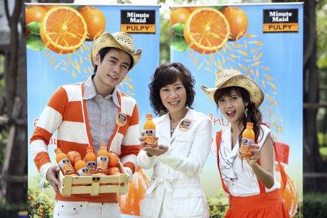 Coca-Cola ออกน้ำส้มใหม่