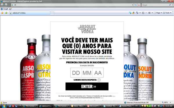 Campaign: Absolut Vodga