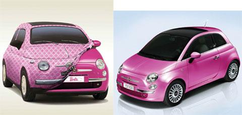 Fiat เอาใจหญิงออกรถยนต์รุ่น Barbie Edition