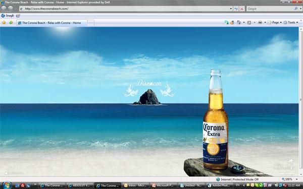 Campaign: The Corona Beach