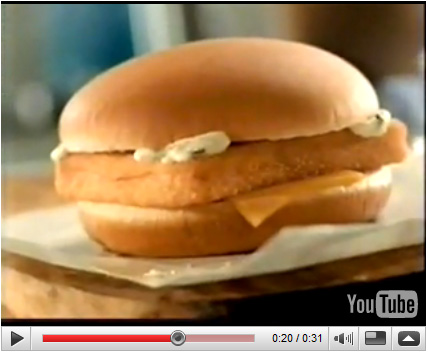 McDonald's – Filet O' Fish Burger