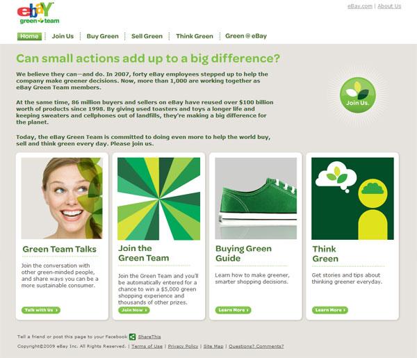 eBay Green Team