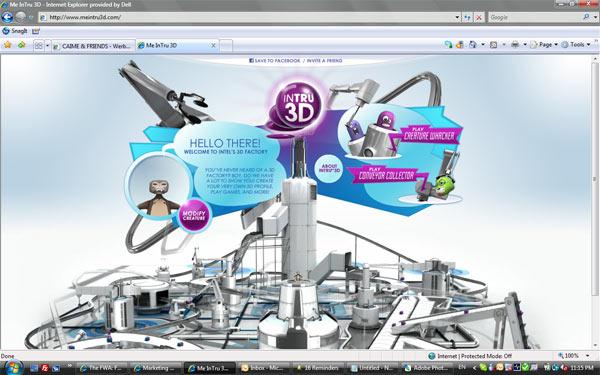 Intel ให้คุณสร้าง 3D Avatar ฟรี