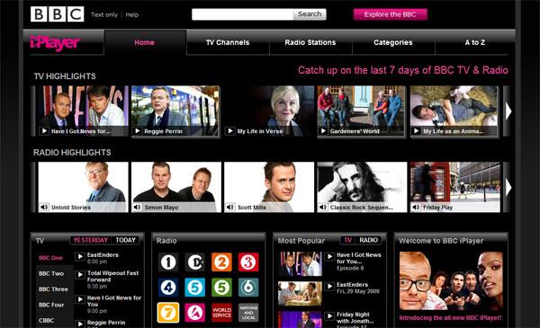 BBC iPlayer คุณภาพเต็มพิกัด