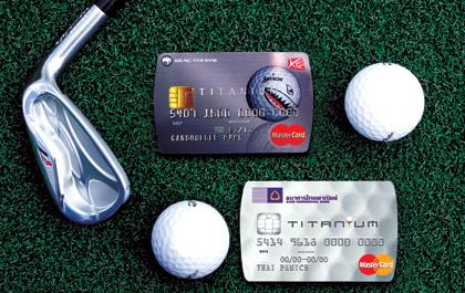 Golf Credit Card กลยุทธ์ตลาดหมื่นล้าน