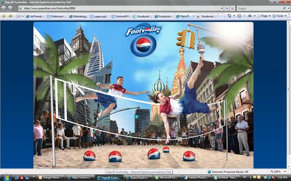 Pepsi โลกแห่งฟุตวอลเล่ย์
