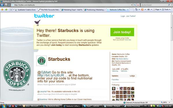 สร้างแบรนด์ด้วย Twitter