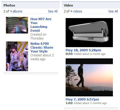 Nokia กับ Facebook Fan Page