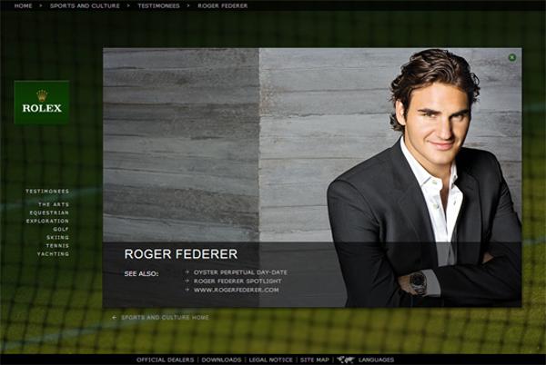 โฆษณานาฬิกา Rolex ตัวใหม่จาก Roger Federer