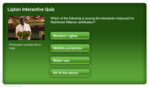Quiz by lipton
