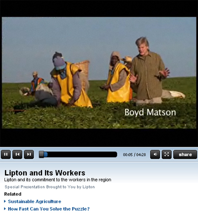 Video by lipton