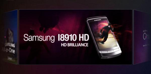 samsung i8910hd omnia HD