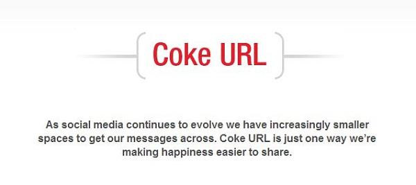 Coke URL