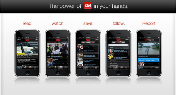 CNN ออก iPhone App $1.99