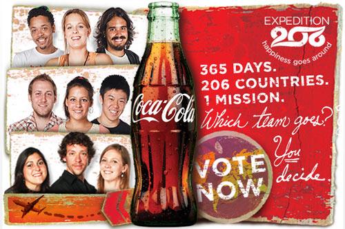 Social Media แคมเปญ (ใหญ่) จาก Coca Cola