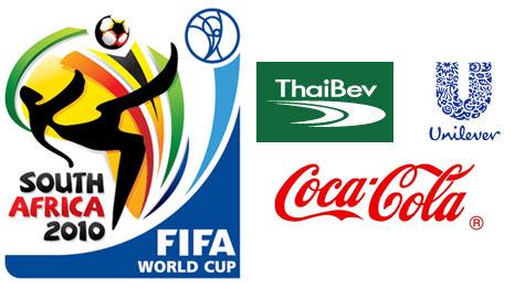 Unilever-Thai Bev-Coke สปอนเซอร์บอลโลก