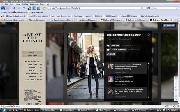 แบรนด์หรู Burberry คาดหวังลูกค้าจาก Social Media