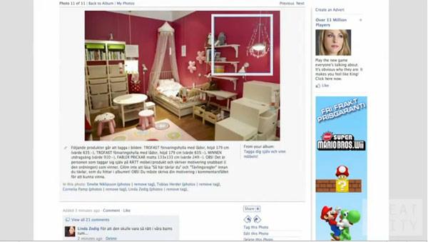 IKEA กับไอเดีย Photo Tags บน Facebook