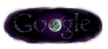 Google Moon Logo