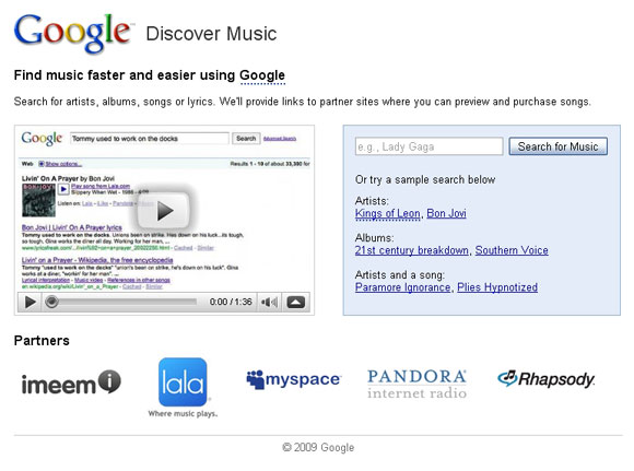 ทางออกธุรกิจเพลงดิจิตอล สู่สนามรบบน Search Engine
