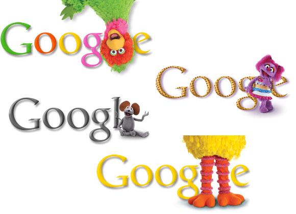 Google ปรับโลโก้ฉลอง 40 ปี Sesami Street