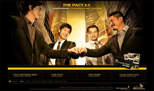 """เรื่องราวของเพื่อนรักสถาปนิก กลับมาอีกครั้ง Johnnie Walker """"The Pact 2.0″"""