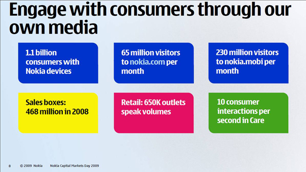 Nokia engage with customers
