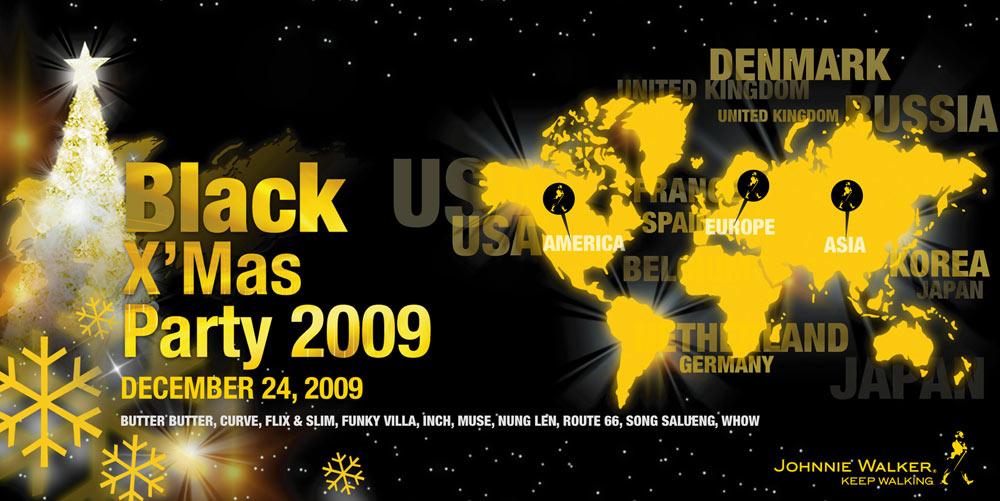 """Black X'Mas Party 2009"""