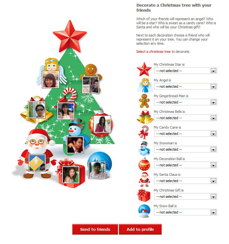 สร้างสีสันวันคริสมาสกับ X'Mas App บน Facebook