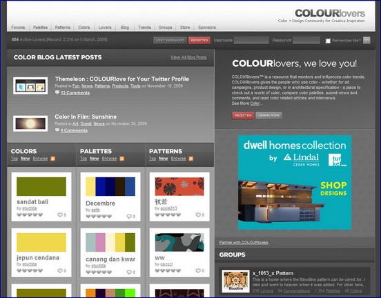 colorlovers.com คอมมูนิตี้สีเขย่าอารมณ์