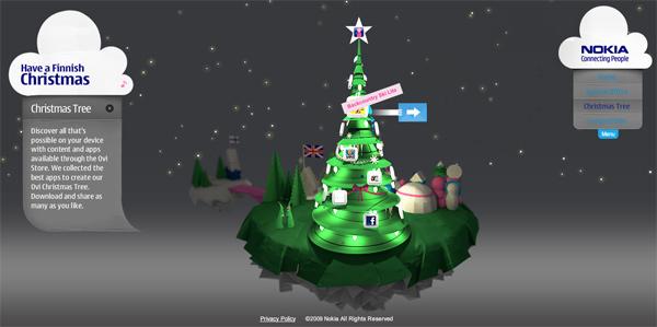 Nokia ปล่อยโปรโมชั่นผ่าน Christmas tree