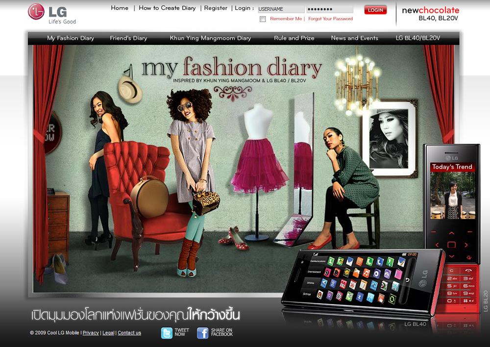 My Fashion Diary กับ New LG Chocolate