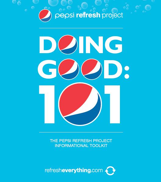 อีกครั้งกับ Pepsi Refresh Everything