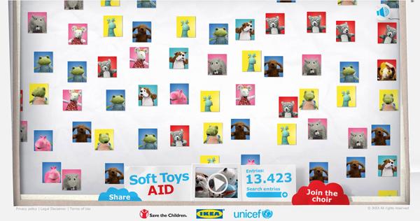 "CSR แคมเปญ ""IKEA Soft Toy Said"""