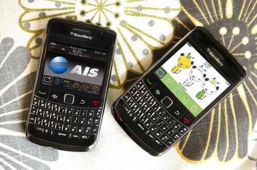 AIS เปิดตัว BlackBerry Bold 9700
