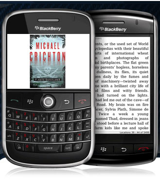 Amazon เปิดตัว Kindle App บน BlackBerry