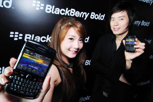 RIM เปิดตัว BlackBerry Bold 9700 ในไทย