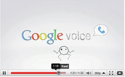 วิดีโอทำความรู้จักกับ 10 Top Features ของ Google Voice