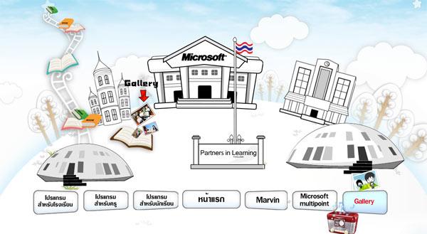 Partners in Learning จาก Microsoft
