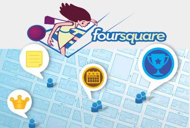 มาเล่น Foursquare กัน..