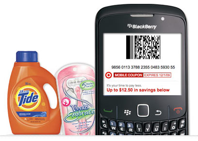 Mobile Coupon จาก Target
